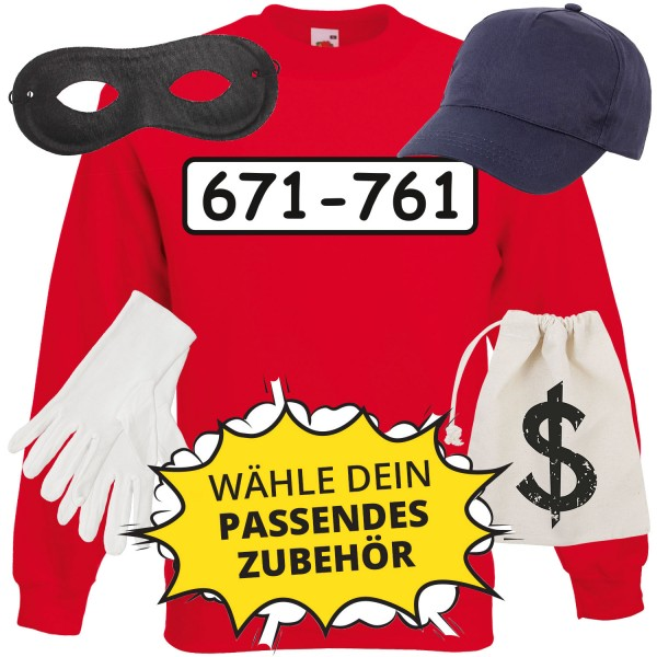 Panzerknacker Unisex Sweatshirt Set