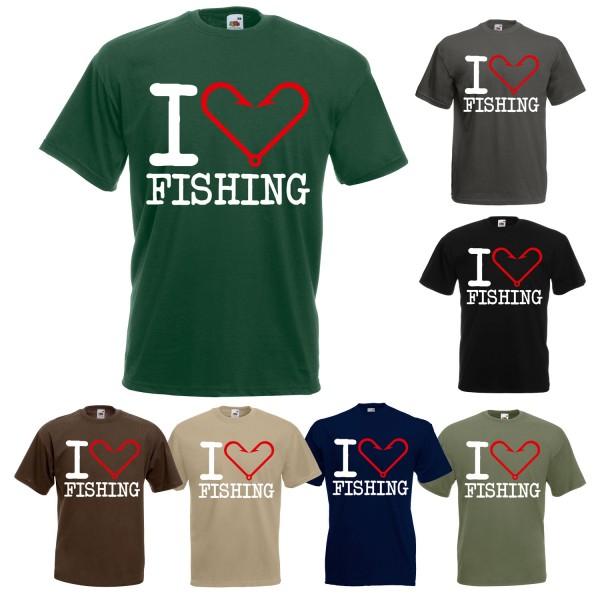Angel Fun T-Shirt - I love fishing