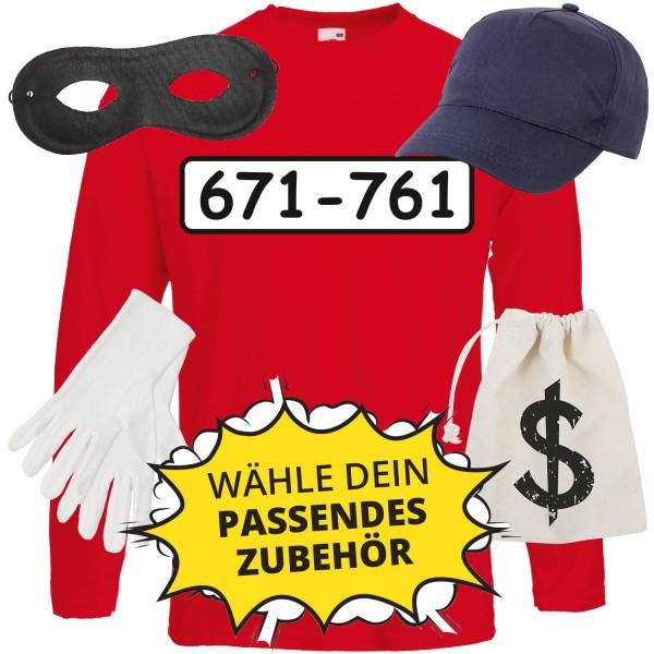 Panzerknacker Unisex Langarm-Shirt Set