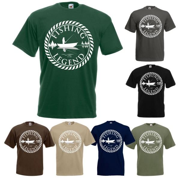 Angel Fun T-Shirt - Fishing Legend
