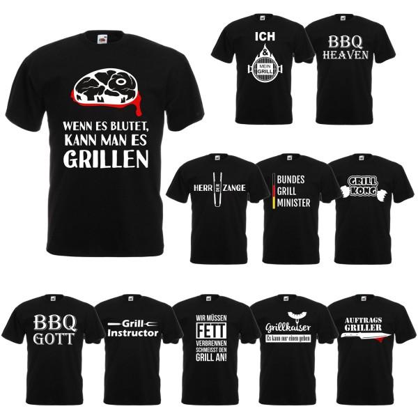 Fun T-Shirt Grill Sprüche