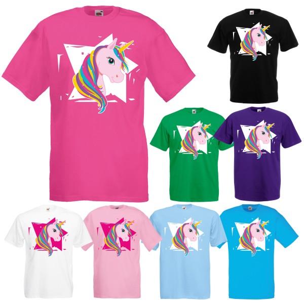 Einhorn Unisex T-Shirt Star