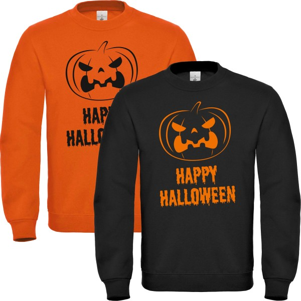 Herren Kostüm Happy Halloween Unisex Sweater