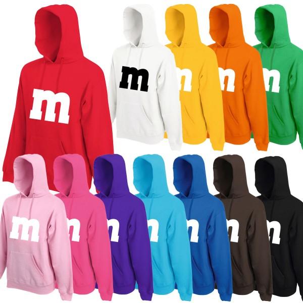 M&M Kostüm Kinder Hoodie