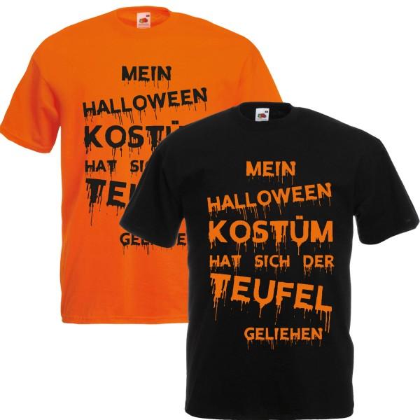 Herren Verkleidung Mein Halloween Kostüm Shirt