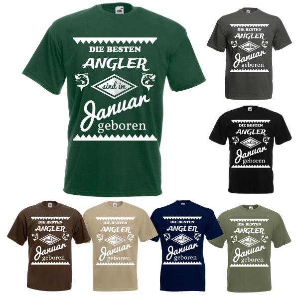 Angel Fun T-Shirt - Die besten Angler