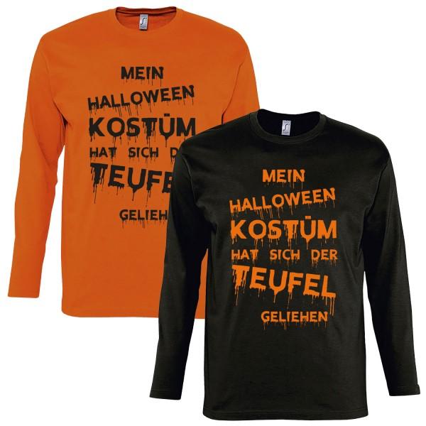 Herren Verkleidung Mein Halloween Kostüm Longsleeve