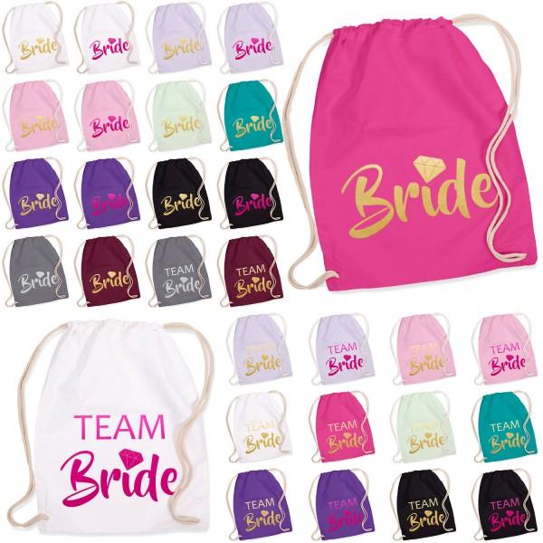 JGA Turnbeutel Bride / Team Bride - Diamant
