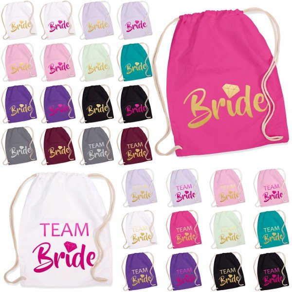 JGA Turnbeutel Bride / Team Bride - Diamant